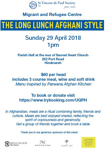 Afghani Long Lunch