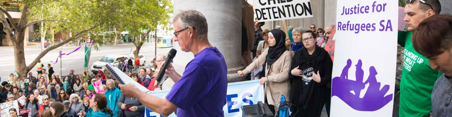 speech justice for refugees SA